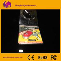 Pocket Size Wireless Tracker for Keys LED Key Finder Locator Find Lost Keys Chain Keychain Whistle Sound Control