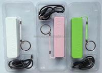 mini portable 2500mah perfume power bank battery charger for mobile phone