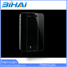 Factory price mobile phone 0.2mm/0.3mm Tempered Glass Screen protector/film For iphone5 5S