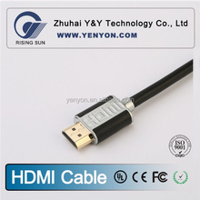 HDMI Certified hot sale 3ft hdmi cable 1.4