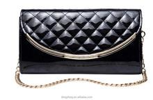 Long clain leather handbag Producer fashion design from alibaba