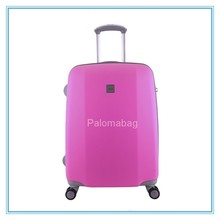 lightweight Matte Finish Soft Surface ABS Trolley Luggage Set/trolley suitcase /suitcase luggage