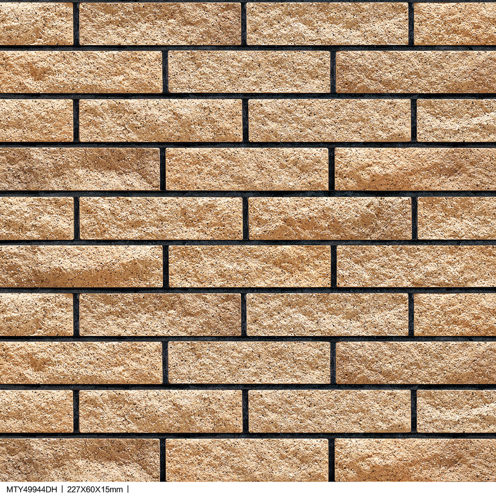 Granite Facing Decorative Ceramic Xiahui Split Rock Bricks Exterior