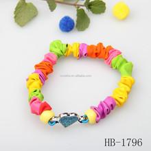 popular style heart lock bracelet for promotion 2015 lover gift