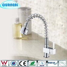 Single Hole Pull out Kitchen Sink Faucet Swivel