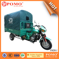 Chongqing Popular Heavy Load Water Proof Canvas Cargo 200CC China Three Wheel Motorcycle
