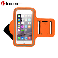 Never stop newest cell phone armband case for iphone 6/6+ compatible perfectly