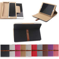 Gridle Style leather case for ipad air, for ipad5 accessories