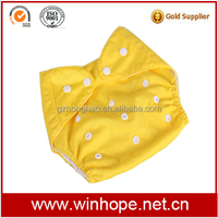 Best Selling Washable & Reusable Cloth Baby Diaper With Bamboo insert 3 layers