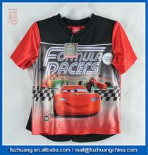 sportwear boys sport T-shirt & beach short basketball wear 2pcs/set Car