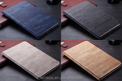 Custom Folding Smart Slim Cover Case Tablet Leather Flip Wallet Case Cover for iPad 5 for iPad Air