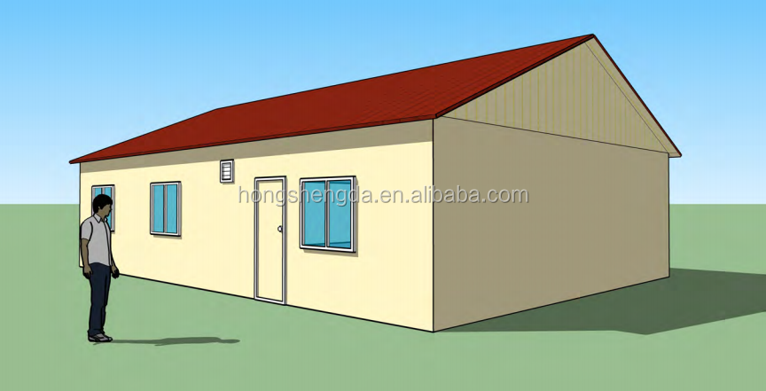 2 bedroom cheap modern prefabricated house plans buy for Cheap i bedroom house