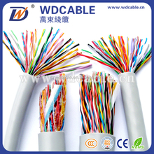 20-200pairs Multi pairs cat 5 Cable LAN Cable with RoHs Complied PVC,PE or LSOH jacket