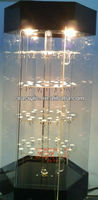 acrylic display case,countertop rotating jewelry display stand,counter display