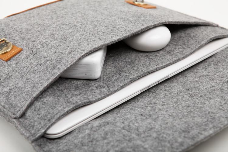Как сшить чехол для ноутбука из фетра