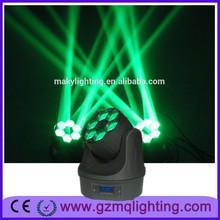 6pcs 4in1 rgbw high power dj light mini rotating light bar stage light