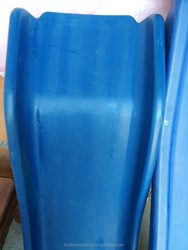 OEM children outdoor slide playground, kid play equipment blow molding