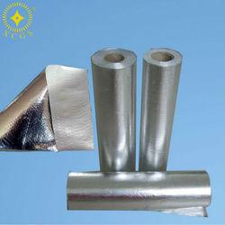 PE Woven Aluminum Foil Fabric
