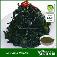 Gmp factory supply pure natural organic spirulina powder bulk