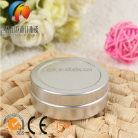 Tin Metal Cans Cosmetics Jar Pill Cream Container Round Aluminum Butter Boxes