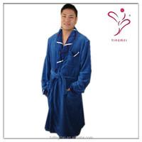 Coral Fleece Bathrobe, Adult Bath Robe, Soft sleepwear