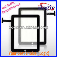Wholesale BLACK Touch Screen Glass Panel Digitizer Replacement for iPAD 2