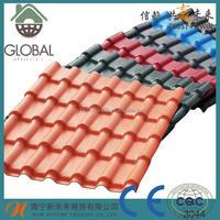 Plastics model house roofing