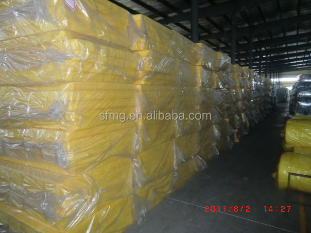 Fireproof thermal insulation foam board commercial for High density fiberglass insulation
