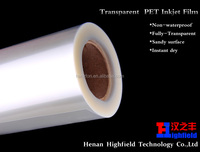 Waterproof Transparent Clear Inkjet Film For Eco-solvent Ink Manufacturer