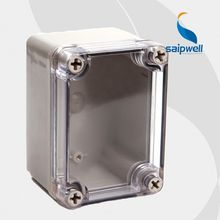 Saipwell ABS clear cover box DS-AT-0506 50*65*55MM clear plastic enclosure(T)