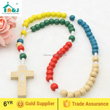 Missionary Wooden Round Rosary