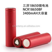 Sanyo NCR18650BF sanyo li ion battery for ecig mod
