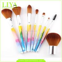 Bamboo Handle Professional Cosmetic Brush Set, Makeup Brush Set Hot Sale