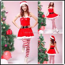 Hiway china supplier women costume christmas stocking