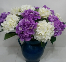 artificial wedding decoration flowers hydrangea centerpiece