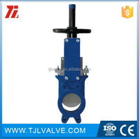class150/pn10/pn16 wafer type flow control components 8 stainless knife gate valve ce certificate 10 years manufacturer