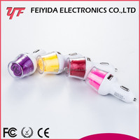 Oem logo printing mobile phone use 12v 2a output usb car charger