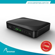 MPEG-4 1080p DVB-T2 Full compliant HD Receiver with media player