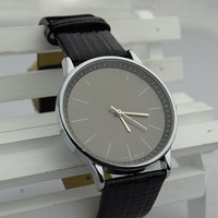New Vogue High Quality C Watch luxury famous brand watches leather wrap Casual Clock Quartz Leather Wrist K Watches Men