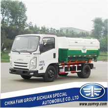 SCZ5040ZXX new small garbage truck (FAW) manufacturer