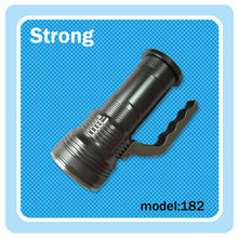 Abs rechargeable handle led flashlight