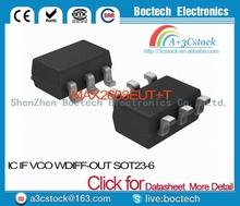 MAX2608EUT+T IC IF VCO W/DIFF-OUT SOT23-6 MAX2608EUT 2608 MAX2608 MAX2608E MAX2608EU 2608E