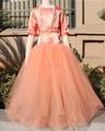 fairy princess à manches courtes blanche robe de bal tulle fleur fille robe modèles