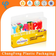 designed logo plastic birthday gift boxes