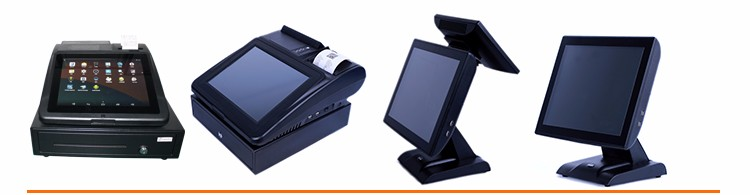 12 inch touch screen android pos , android pos terminal system with printer
