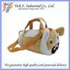 Lovely mustache dog Kids mini duffel bag
