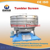Hot sale superior quality fine powder tumbler screening machine for wheat powder