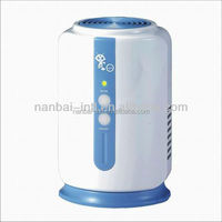 Battery powered air ozone generator for room, refrigerator, wardrobe, cabinet