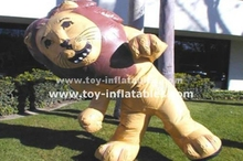 Lion advertising inflatable moving cartoon for sale