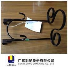Bonded black polyester powder coating decorative or functional application